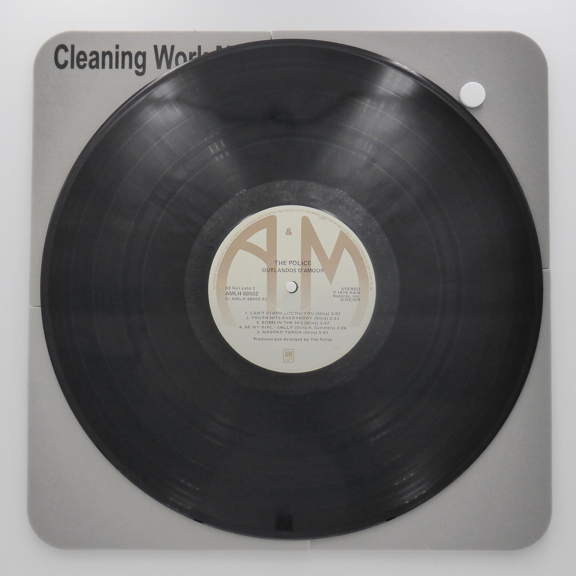 Analogue Studio Professional Vinyl Record Cleaning Work